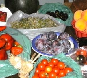 farmers' market bounty