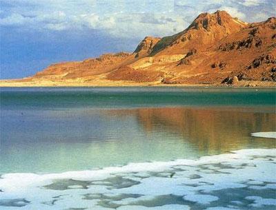 Самое соленое озеро в мире - Topkin