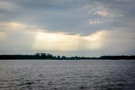 Taevane valgus näitamas meile Emajõe suuet