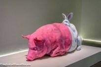Jon Rafman - L'Avalée des avalés (The Swallower Swallowed: Rabbit/Pig)
