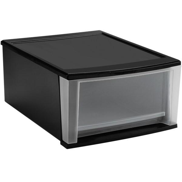 Plastic Storage Bins Drawers. Sterilite 29308001 Wide 3