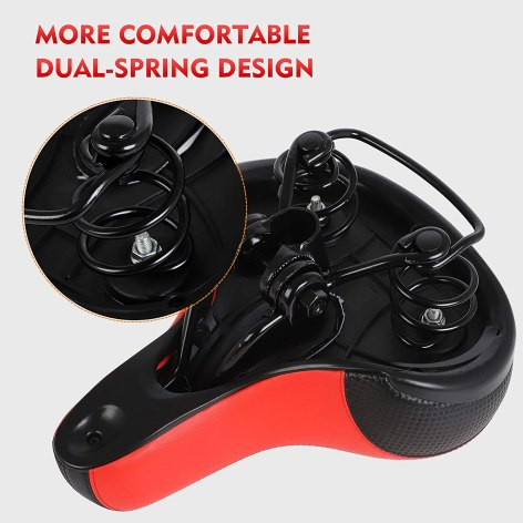 Best for Budget Puroma Bicycle Saddle 2021 BEST