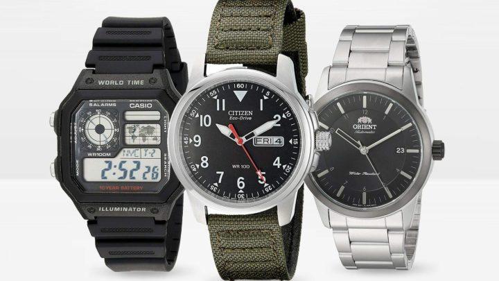 10 Best Men's Watches Under $50