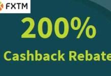 Fxtm, 200% forex cash rebate, forex deposit bonus 2015