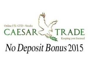 $1,000 USD No Deposit Bonus - Caesar Trade