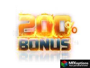 200% Knockdown Forex Deposit Bonus MasterForex