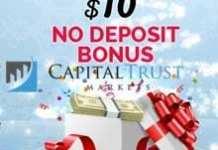 10 USD NO Deposit Forex Bonus