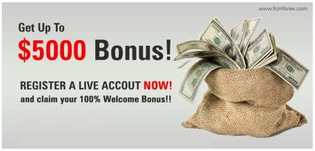 100% Forex Bonus for First Deposit