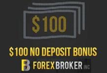 $100 Forex No deposit Bonus for US Clients