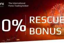 Deposit and get 100% Forex Rescue Bonus