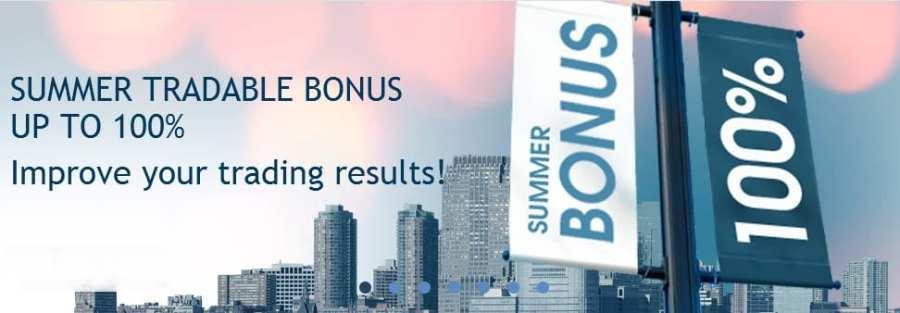 100% Tradable Binary Deposit Bonus