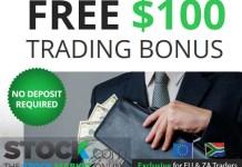 Free $100 Forex no deposit bonus