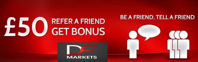 Get FOREX £50 Refer-a-Friend Bonus