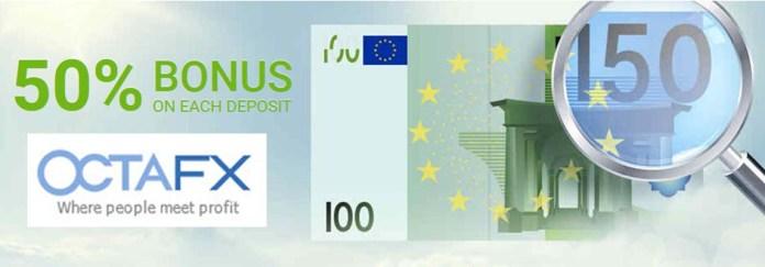 50% Bonus on Initial Deposit
