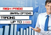 Risk-free Options trading up to $1000