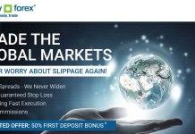 Forex 50% First Deposit Bonus