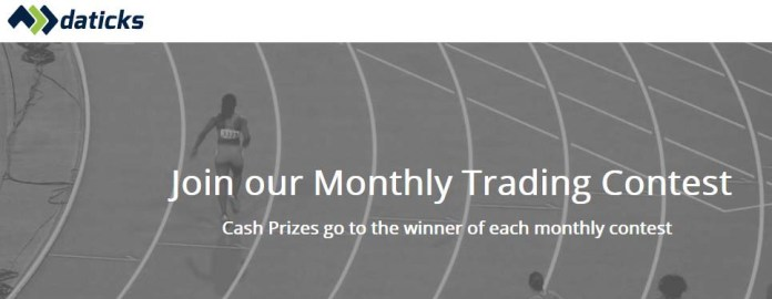 Trading Competition held Monthly - Daticks