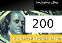 200 Free Credits Bonus - Optionsxo