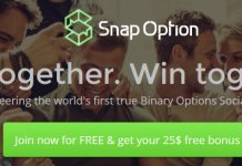 Snap Option 25 No Deposit Offer