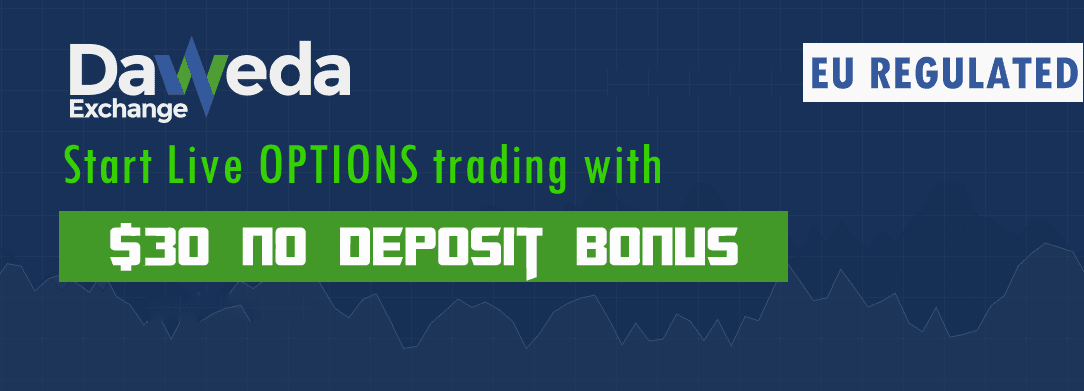 No deposit binary options