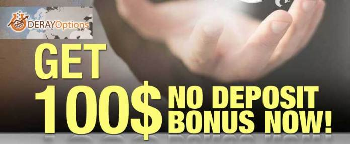 No deposit bonus binary options brokers 2016