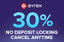 ayrex deposit promotion