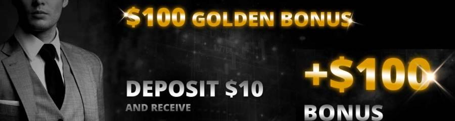 $100 Bonus on $10 Deposit primetime finance