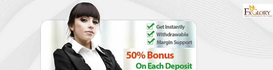 Fxglory Margin Bonus on Each Deposit