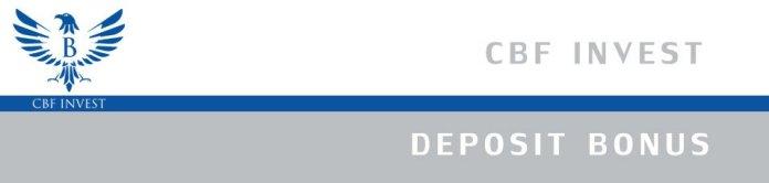 cbfinvest Deposit bonus