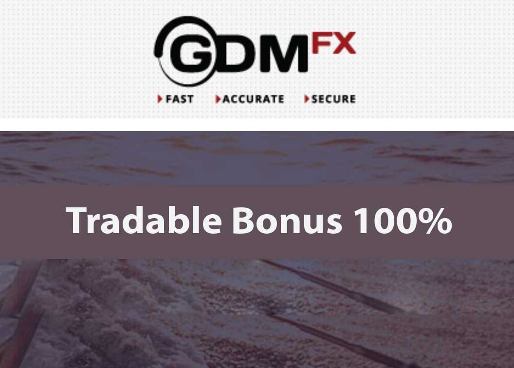 TRADABLE 100% Forex and Binary Bonus – GdmFX
