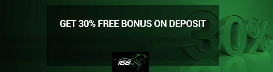 168FX Deposit Credit Bonus