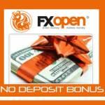 fxopen no deposit bonus free