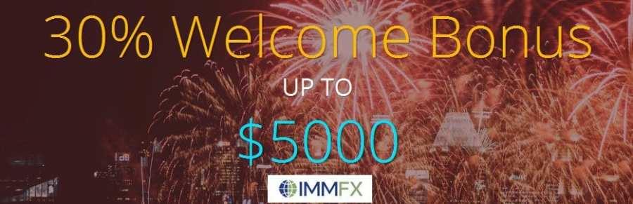 immfx welcome bonus