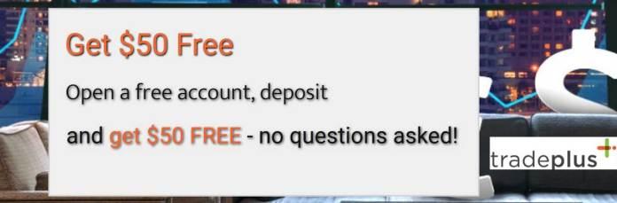 tradeplus FREE No questions asked Deposit Bonus