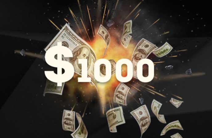 No deposit bonus forex 1000