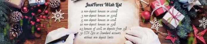 justforex social non deposit bonus