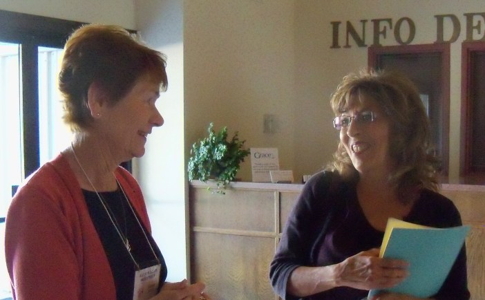 Donna and Teresa, 2 HBH ministers