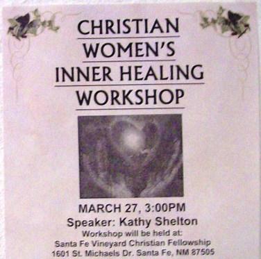 Workshop announcement flyer
