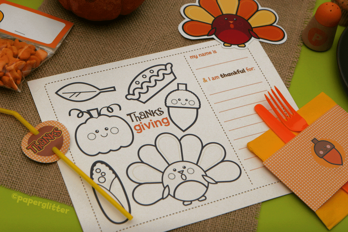 hight resolution of Thanksgiving Printables — All for the Boys