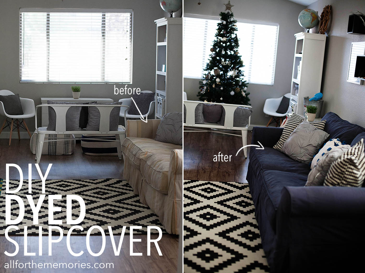 dark grey sofa cover make bed sheet how to dye a slipcover all for the memories