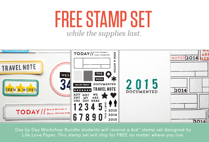 Day by Day stamp set