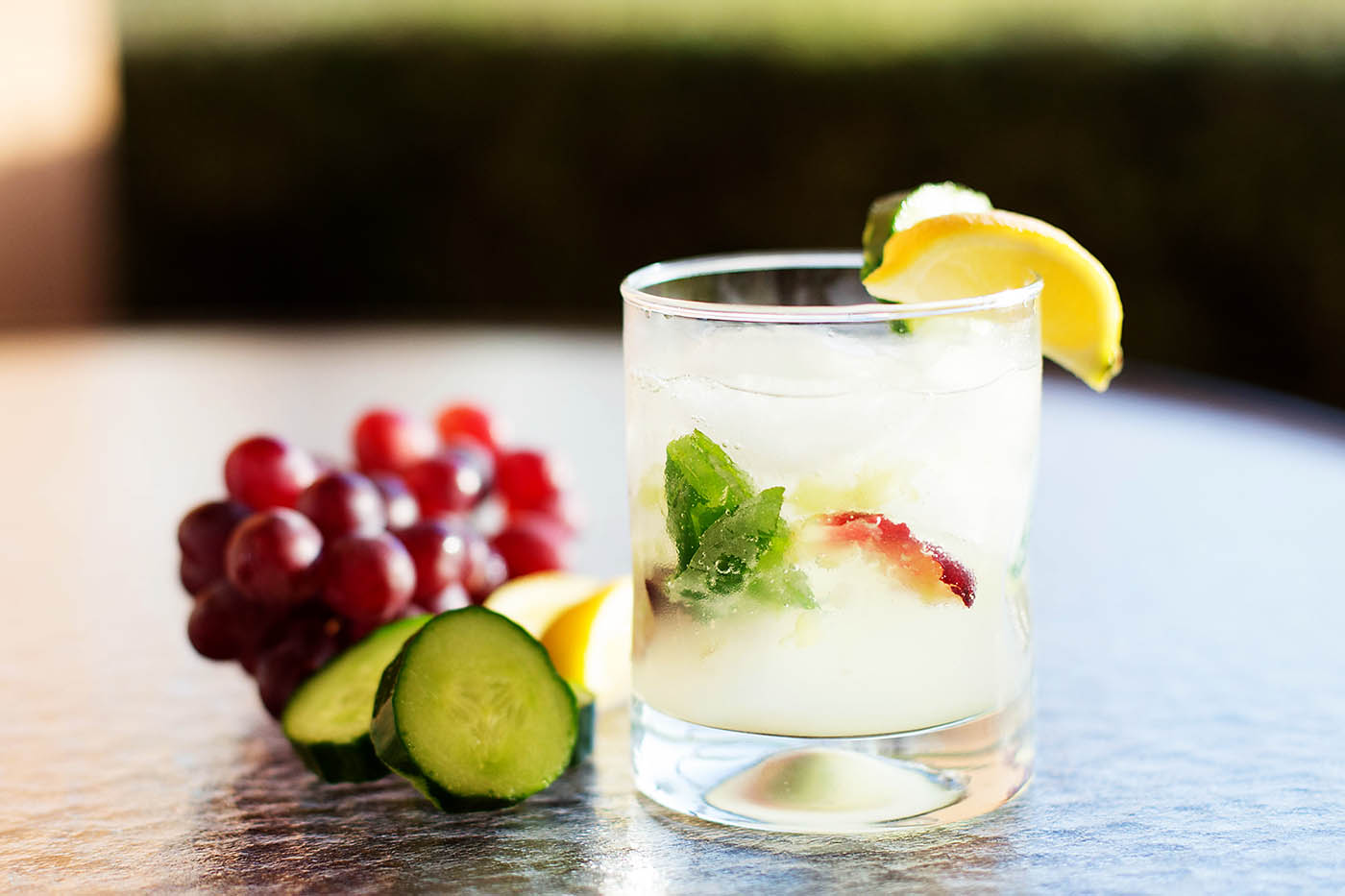 Easy, fresh, everyday cocktail - SO good!