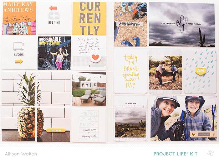 Allison Waken's Project Life