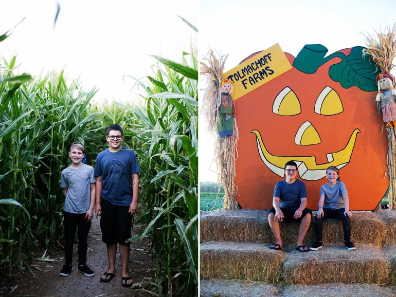 Tolmachoff Farms in Glendale, AZ - annual corn maze and pumpkin patch
