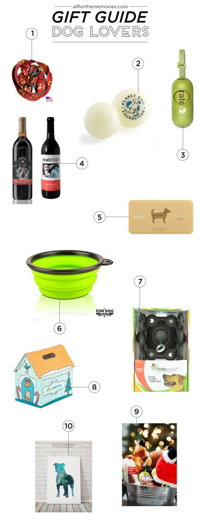 Gift Guide for dogs and dog lovers!