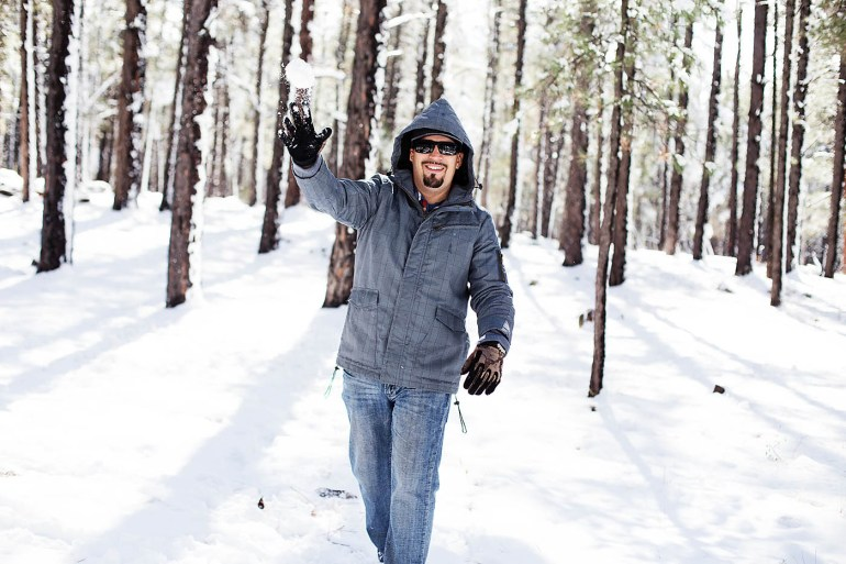 All for the Memories - snow day in Flagstaff, AZ