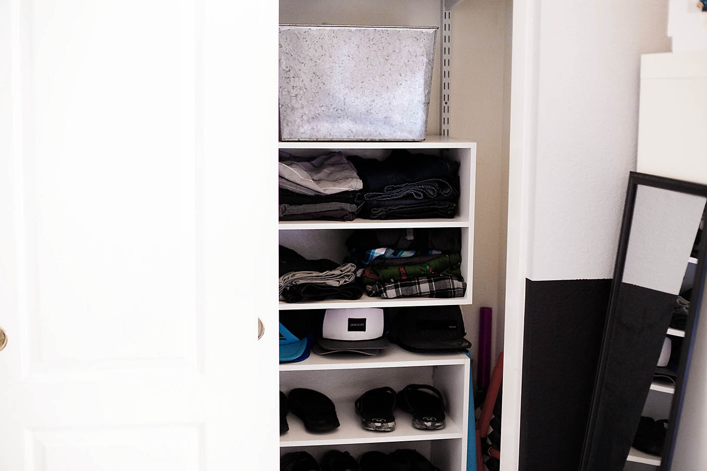 Teen Boy Closet Organization And The Art Of The Clothes Roll ...