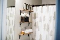Holiday Guest Bathroom Decor
