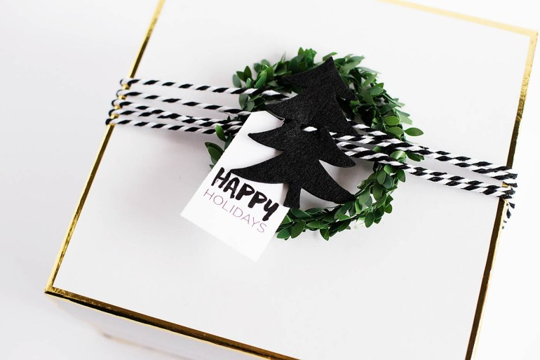 3 easy ways to package a hostess gift