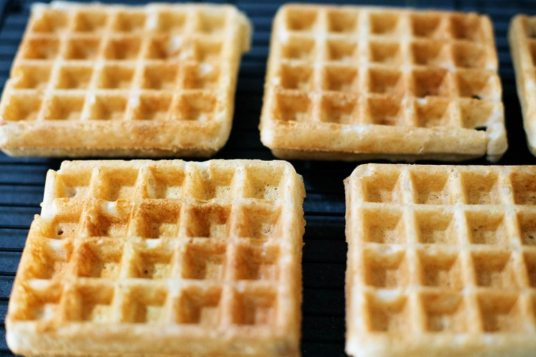 The best gluten free waffle recipe (can be made dairy free too if needed). You definitely won't miss the gluten in this one!